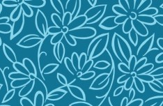Vector Small Flower Pattern Background 01