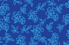 Vector Small Flower Pattern Background 07