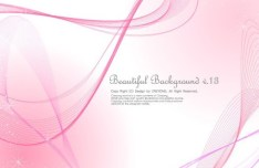 Beautiful Abstract Lines Background Vector 01