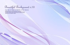 Beautiful Abstract Lines Background Vector 02