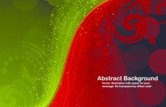 Cool Colorful Flow Lines Background Vector 02