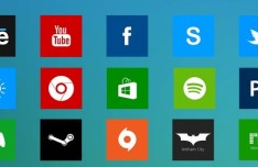 Windows 8 Styled Icons Pack PSD