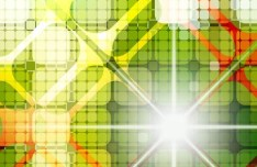 Bright Abstract Mosaic Background Vector 01
