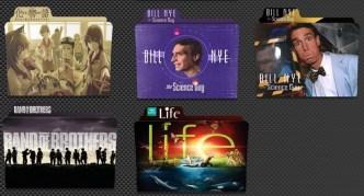 TV Show Folder Icons Pack