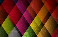Colored Abstract Geometry Background Vector 03