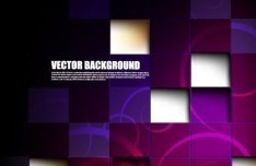 Creative Color Blocks with Abstract Background Vector 05