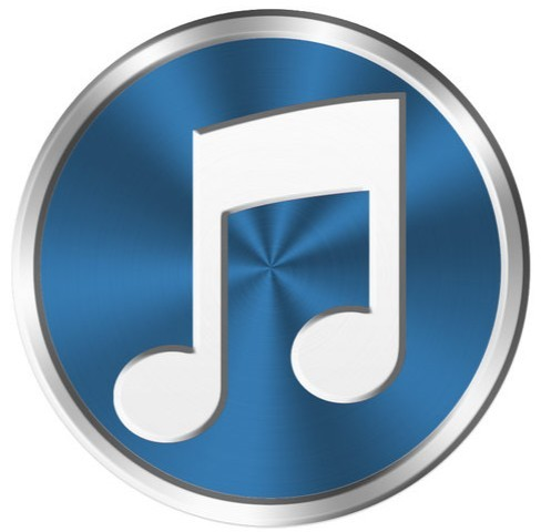 Metal iTunes Icon PSD