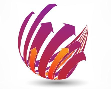 Creative Abstract Globe Logo Vector 01