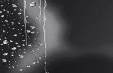 Fresh Water Drops Background Vector 04