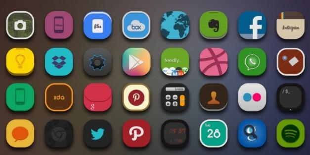 MMII Flat Web Icons Pack 01