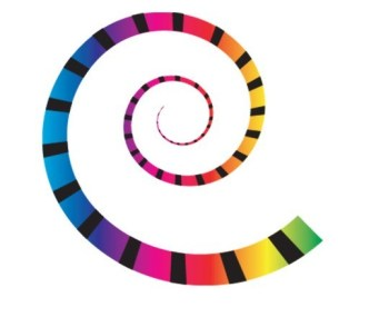 Vector Colored Spiral