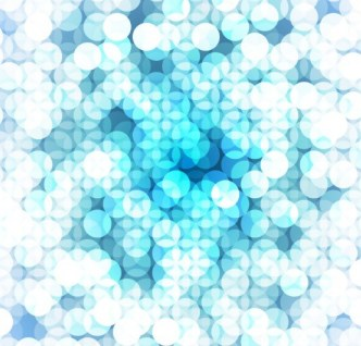 Bright Abstract Halos Background Vector