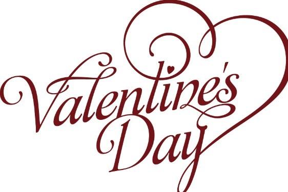 Valentine's Day Font Art