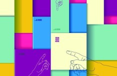 Colorful 3D Boxes Background Vector 03