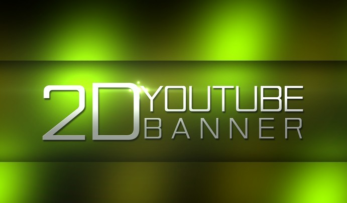 Free Youtube Banner Template PSD - TitanUI
