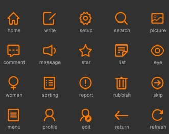 Samice Icons Pack PSD