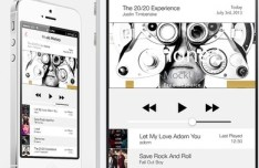 iOS 7 Styled Music History For iPhone