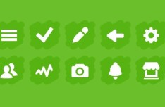 10 Vector Chunk Icons For Web Design