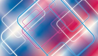 Colorful Bright Lines Background Vector
