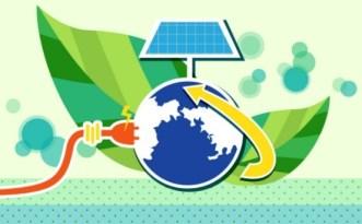 ECO & Green Energy Concept Vector Illustration 05