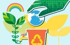 ECO & Green Energy Concept Vector Illustration 08