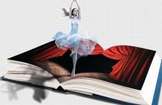 Girl Dancing In The Book