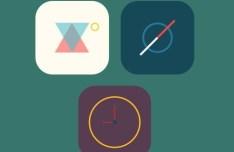 3 Flat Random iOS 7 Icons PSD