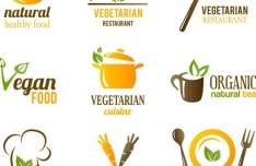 Set Of Vector Fresh Natural Healthy Food Icons 02