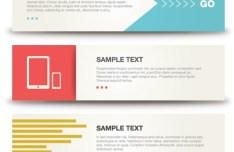 Set Of Vector Clean Web Banners & Headers