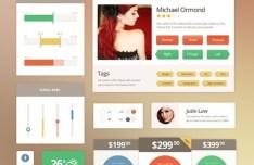 Metro Vibes UI Kit PSD