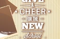 Happy New School Year Vector Illustration 03