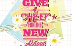 Happy New School Year Vector Illustration 04