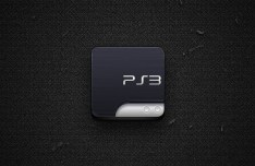 PlayStation 3 Icon For iPhone PSD