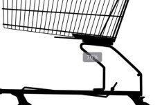 Vector Shopping Trolley 01