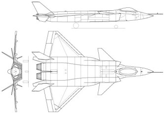 Vector Chengdu J-20 Fighter Aircraft Perspective