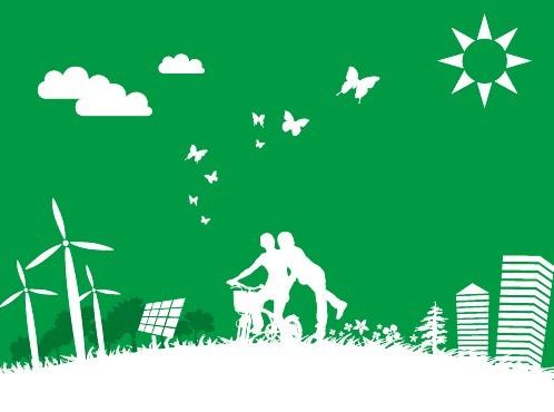 Green Earth Concept Vector Illustration 06