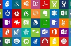 Office and Productivity Windows 8 Modern Tile Set