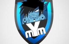 mYm eSports Logo PSD