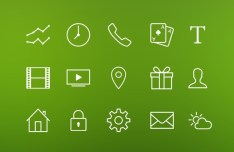 500+ iOS 7 Styled Icons Pack PSD
