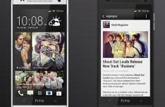 HTC One Mini PSD Mockup Templates
