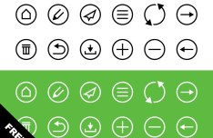 12+ Mail & Contact Icons PSD