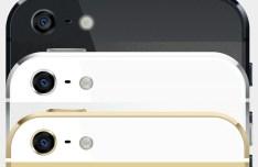 3 Colors iPhone 5S GUI PSD