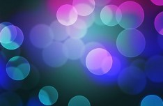 Colorful Abstract Bokeh Background PSD