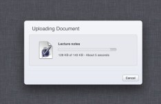 Minimal File Upload Box PSD