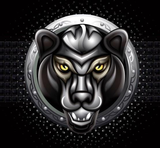Free Black Panther Totem Symbol Vector Titanui