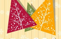 Creative Christmas Tree Design Elements Vector 02