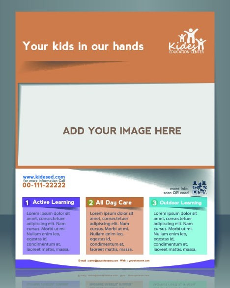 Creative Business Flyer Brochure and Magazine Cover Vector 03