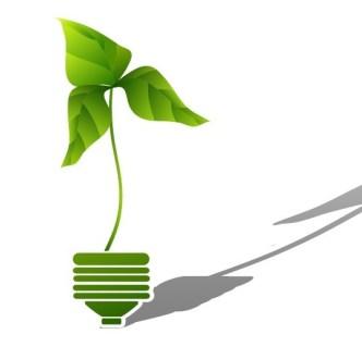 ECO Concept Creative Green Light Bulb Design Vector 05