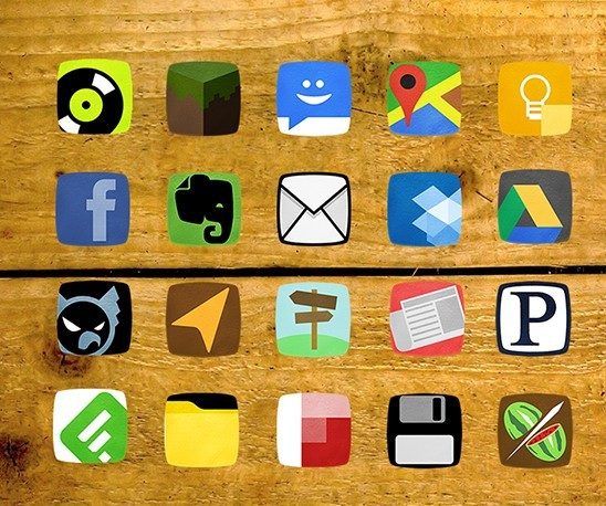 Tubularlite -  80 Rounded App Icons For Android Phone