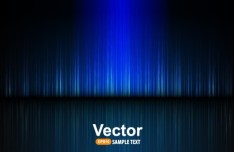 Fashion Blue Radial Lines Background Vector 01